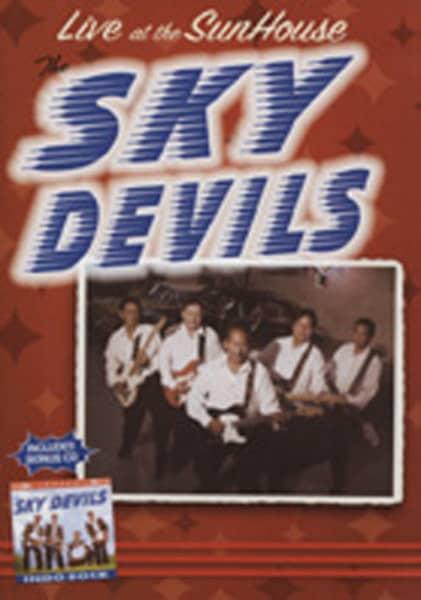 Sky Devils Live At The Sunhouse (0) plus bonus CD