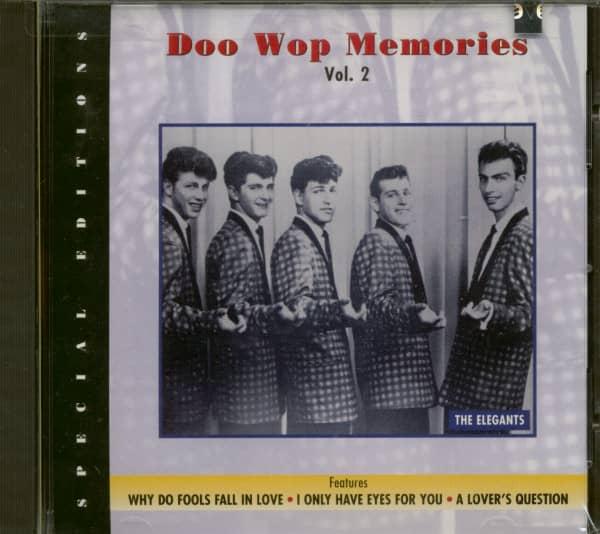 Doo Wop Memories Vol.2 (CD)