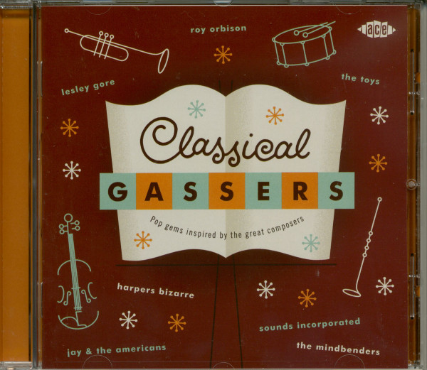 Classical Gassers-Pop Gems Inspired By The Great Composers (CD)