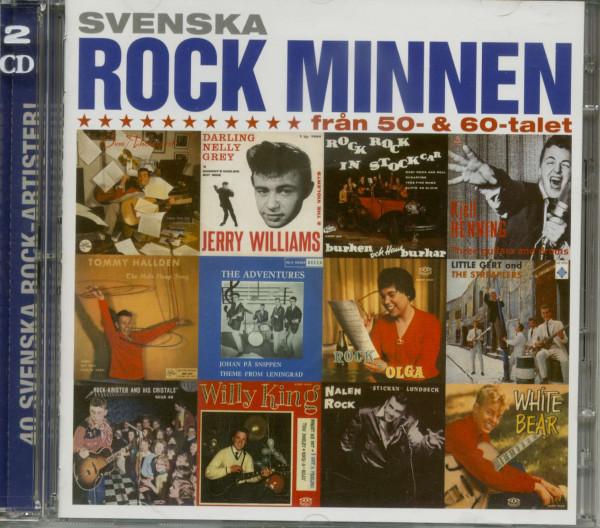 Svenska Rock Minnen 1950 - 60s Vol.1 (2-CD)