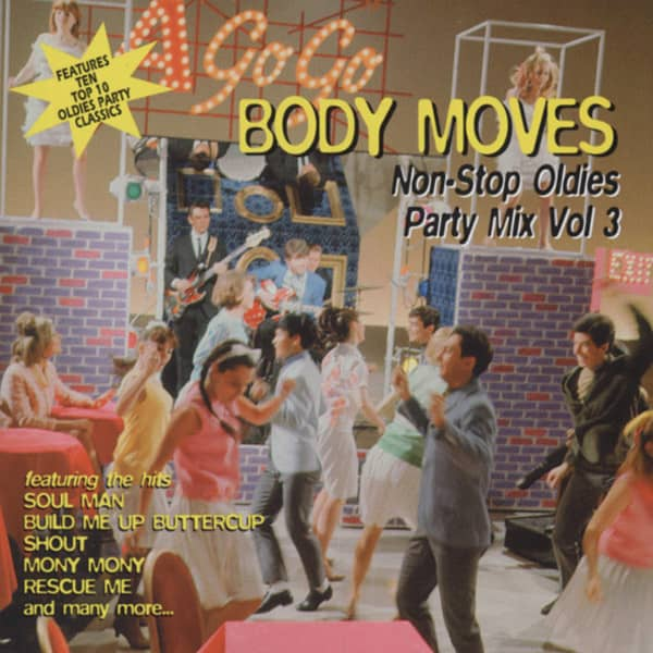 Va Body Moves - Non-Stop Oldies Party Mix Vol.3
