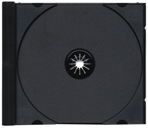 CD tray noir