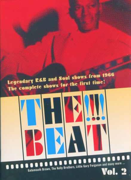 Legendary R&B and Soul Shows from 1966 Vol.2 (DVD)