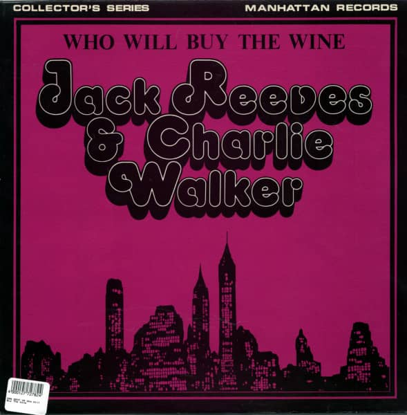 Who Will Buy The Wine (LP)