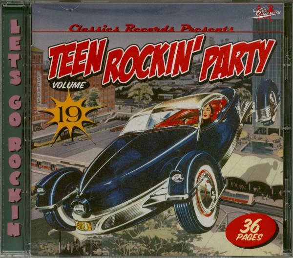 Teen Rockin' Party Vol.19 (CD)