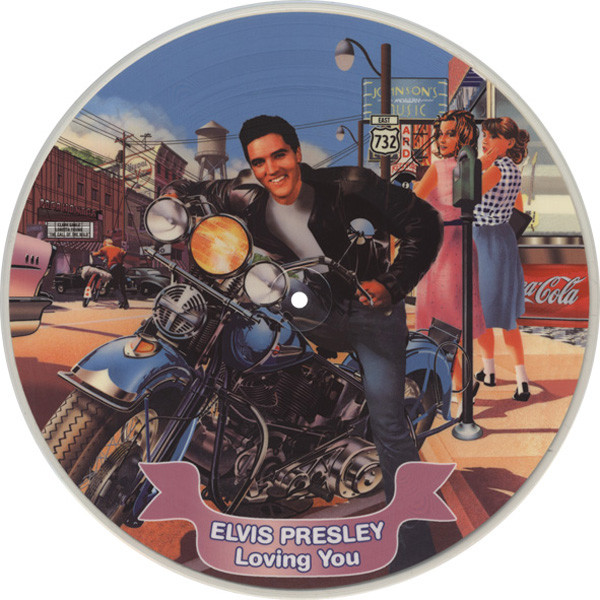Presley, Elvis Loving You - Picture Disc