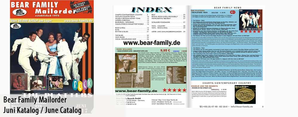Bear Family Mailorder Online Catalog