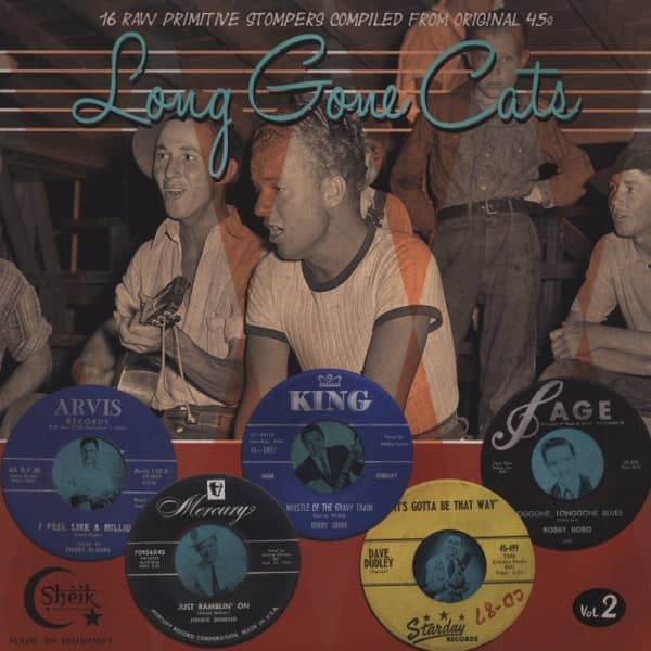 Vol.2, Long Gone Cats - 16 Raw Primitive Stompers