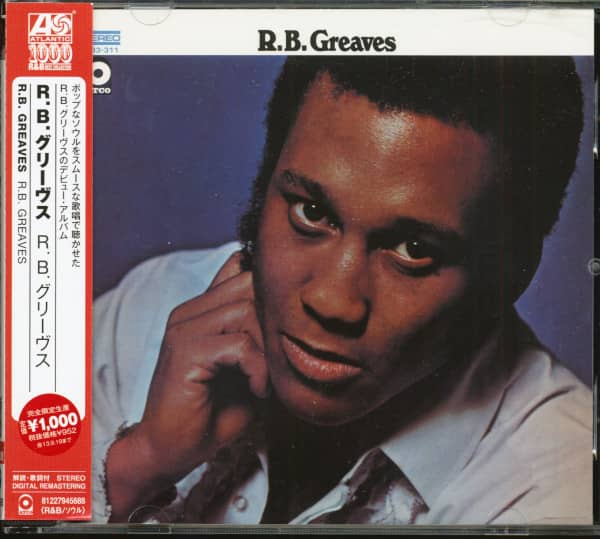 R.B. Greaves (CD, Japan)