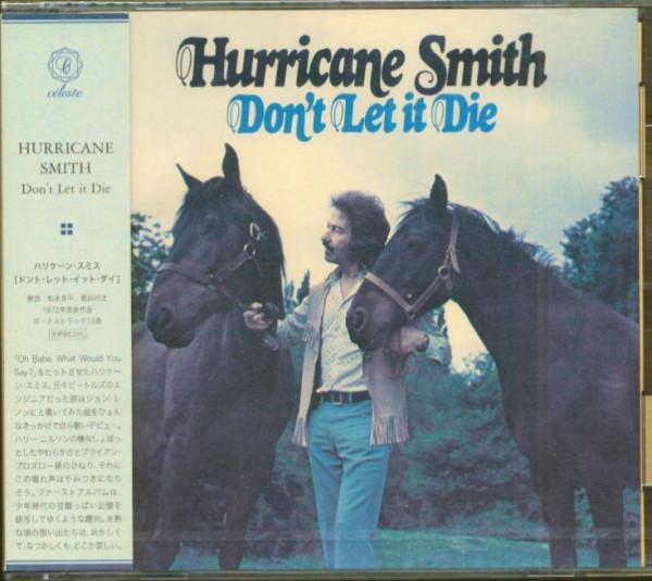 Don't Let It Die (CD, Japan)