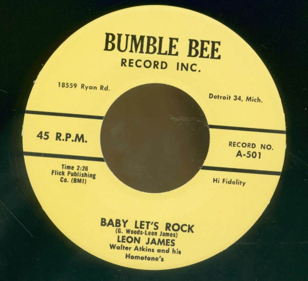 Baby Let's Rock - Thinkin' About You (7inch, 45rpm)