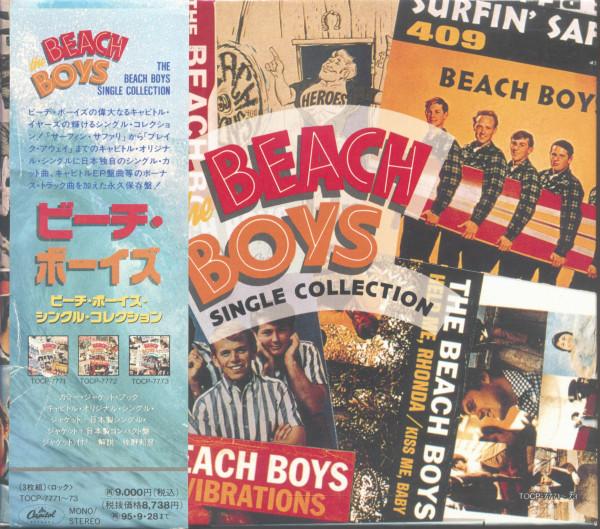The Beach Boys Singles Collection (3-CD Box, Ltd.)