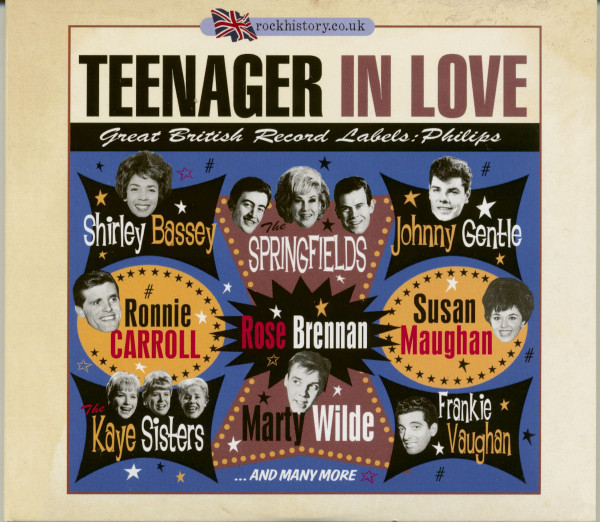 Teenager In Love - Great British Record Labels: Phillips (2-CD)
