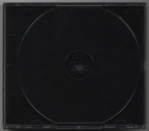 CD multipack avec noir tray pour 2 CDs