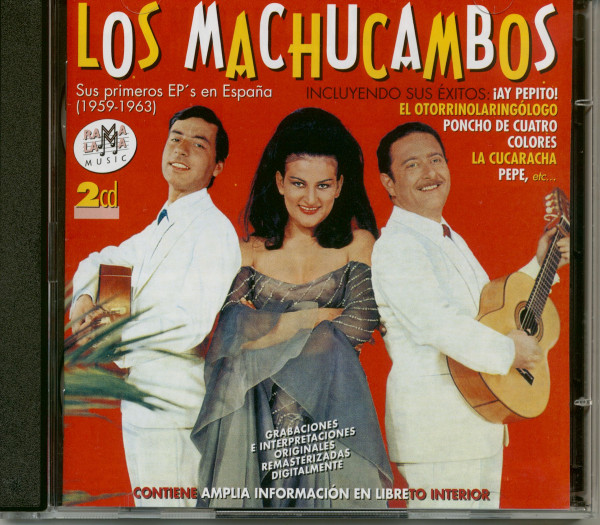 Sus Primeros EP's en Espana (2-CD)