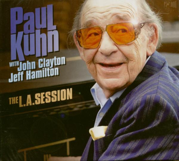 The L.A. Session - Paul Kuhn with John Clyton and Jeff Hamilton (CD)