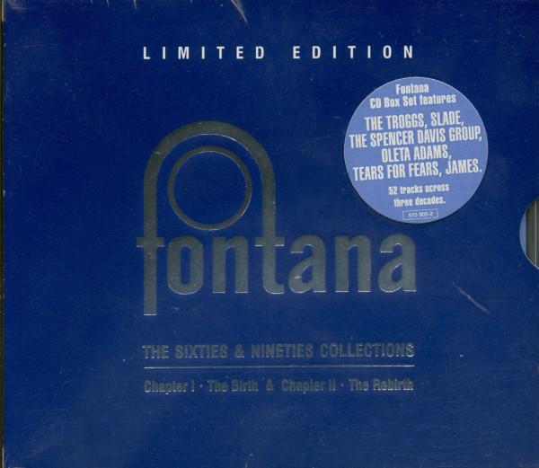 Fontana CD Box Set - The Sixties & Nineties Collection (3-CD)