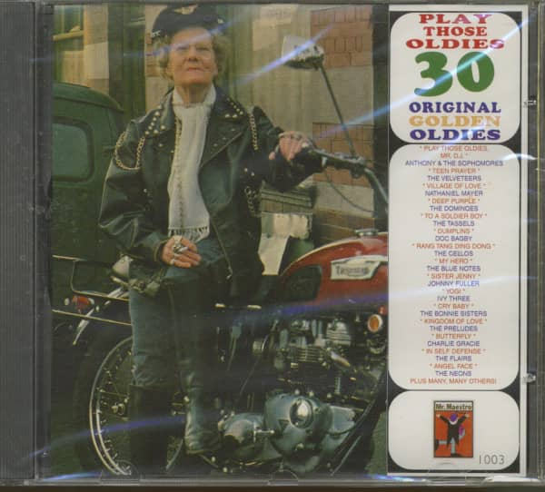 Play Those Oldies - 30 Original Golden Oldies (CD)