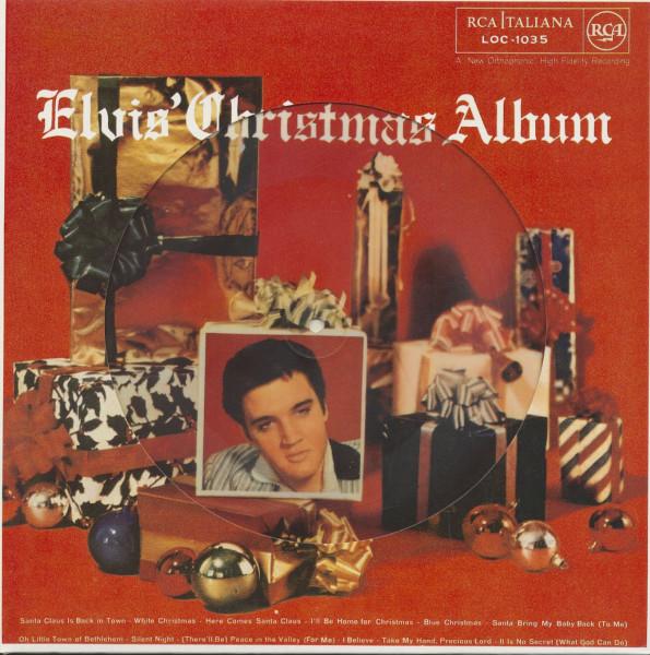 Elvis' Christmas Album - Picture Disc (LP)