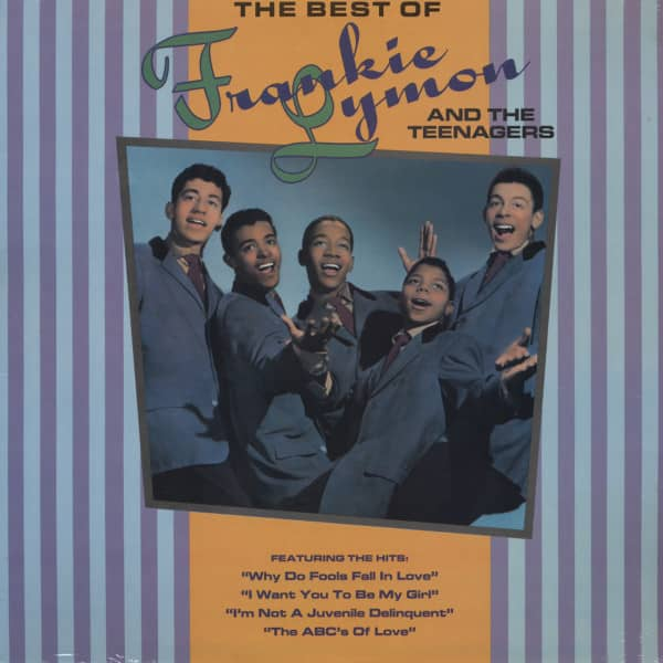 The Best Of Frankie Lymon & The Teenagers (Vinyl-LP)