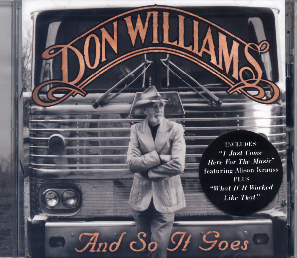 Williams, Don And So It Goes (2012)