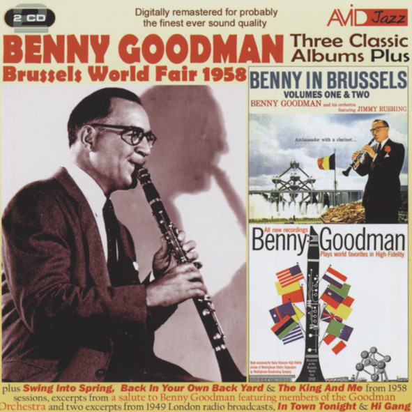 Goodman, Benny Three Classic Albums plus (2-CD)