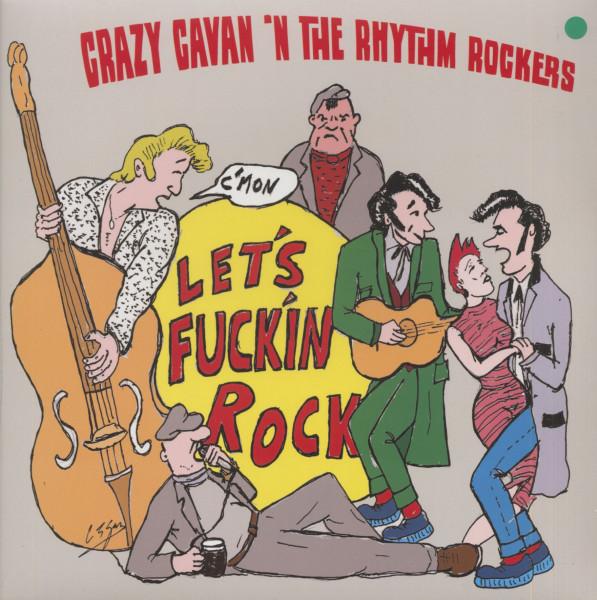 Let's F***in Rock (LP, Green Vinyl, Ltd.)