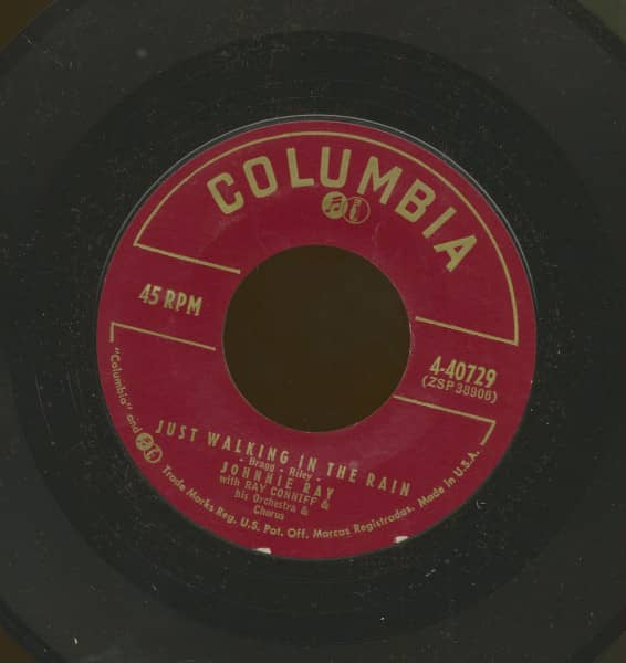 Just Walking In The Rain b-w In The Candlelight (7inch, 45rpm)
