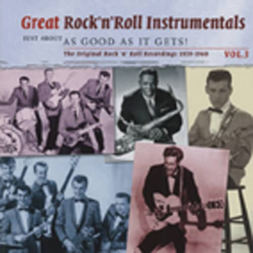 Va Vol.3, Great Rock & Roll Instrumentals 2-CD