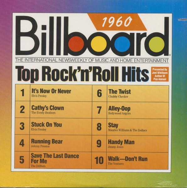Billboard Top Rock & Roll Hits - 1960 (LP, Cut-Out)