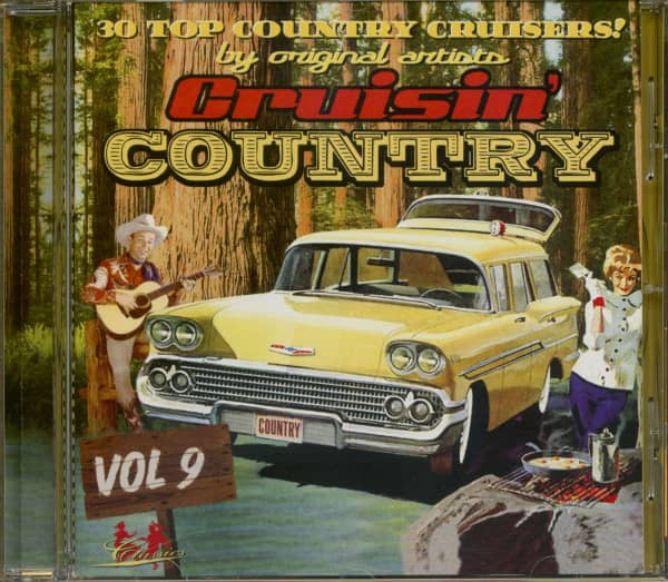 Cruisin' Country Vol.9 (CD)