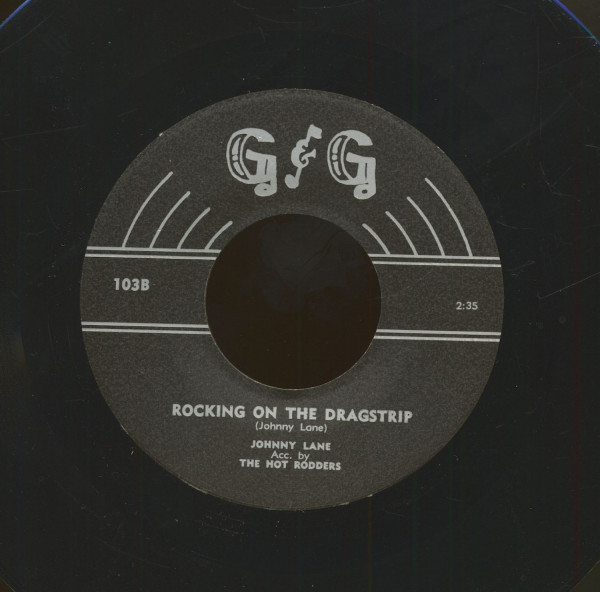 Rocking On The Dragstrip - I Might Have Known (7inch, 45rpm)