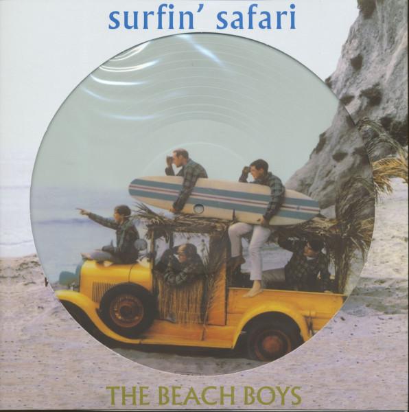 Surfin' Safari plus ... (Picture-LP, 180g Vinyl)