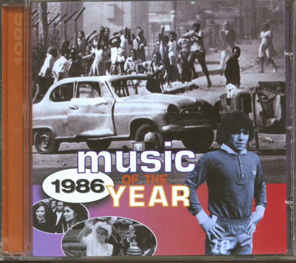 Music Of The Year - 1986 (CD)