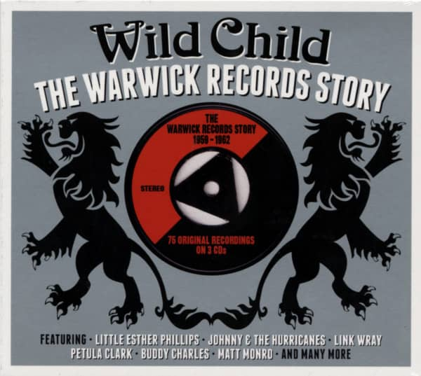 Wild Child - The Warwick Records Story 3-CD