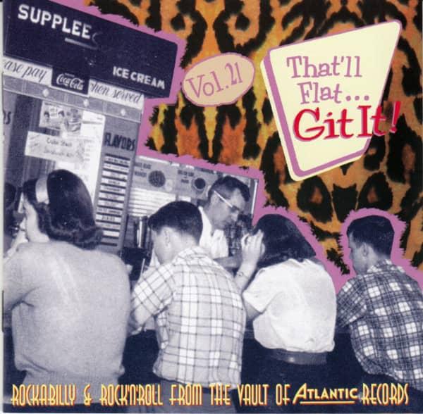 Vol.21 - Rockabilly From The Vaults Of Atlantic (CD)