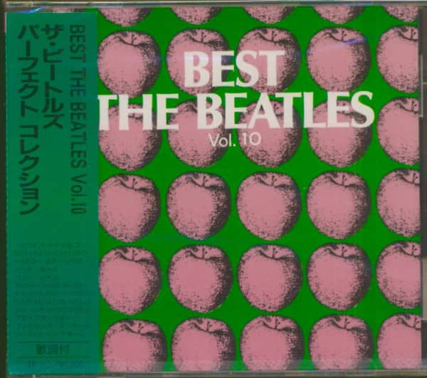 Best - The Beatles, Vol.10 (CD, Japan)