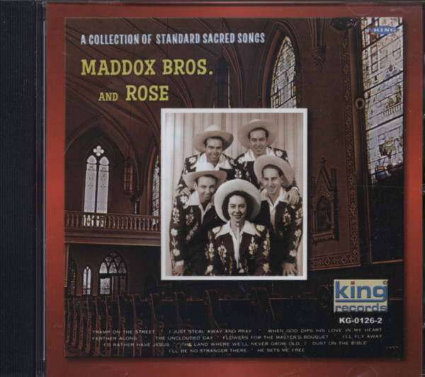 Maddox Bros And Rose Collection Of Standard Sacred Songs