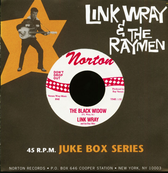 Norton Juke Box Series Vol.4 - The Black Widow (7inch, 45rpm)