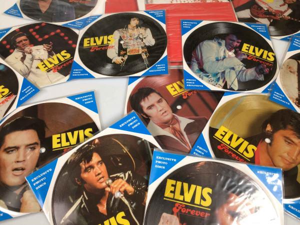 Elvis Forever - 12 Picture Disc Set - 12 Soundcards 45rpm & Display