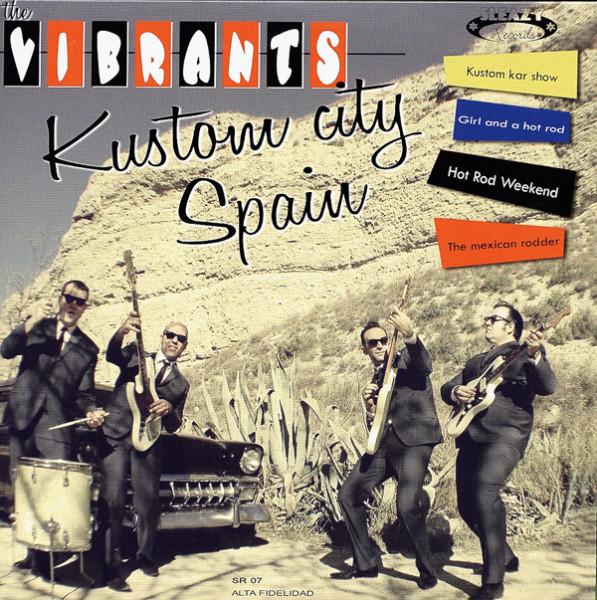 Kustom City Spain 7inch, 45rpm EP