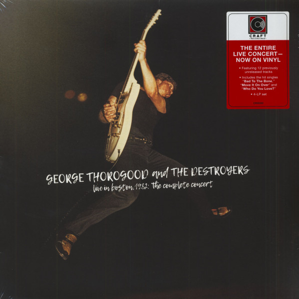 Live In Boston 1982 - The Complete Concert (4-LP, Ltd.)