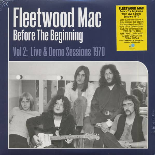 Before The Beginning - Vol 2: Live & Demo Sessions 1970 (3-LP, 180g Vinyl)