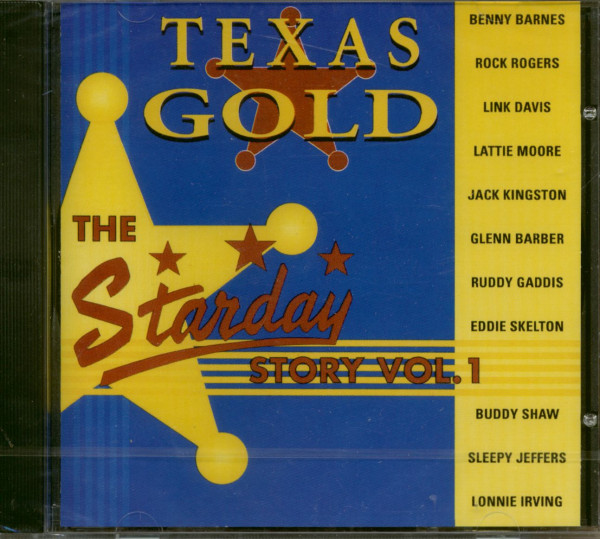 Texas Gold - The Starday Story Vol.1 (CD)