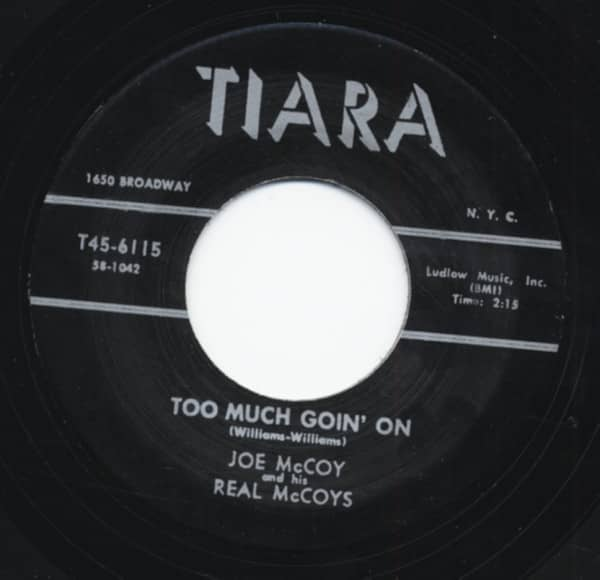 Too Much Goin' On b-w Hey Hey Loretta 7inch, 45rpm