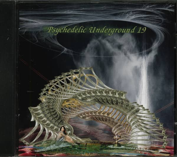 Psychedelic Underground 19 (CD, Ltd. & Numbered)