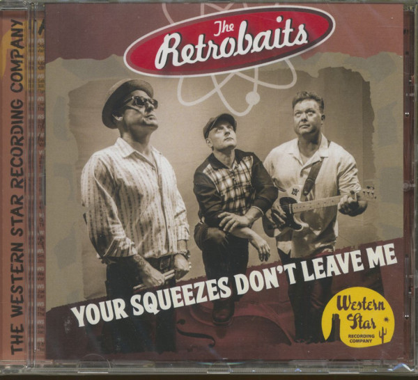 Your Squeezes Don't Leave Me (CD)