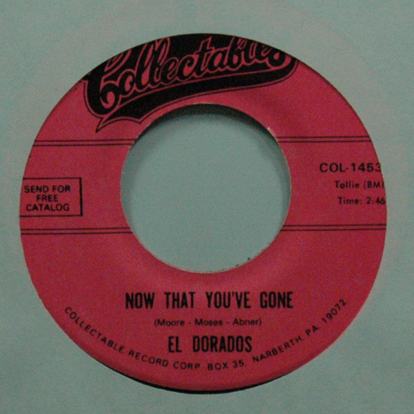Now That You've Gone b-w Rock 'n Roll's For Me 7inch, 45rpm