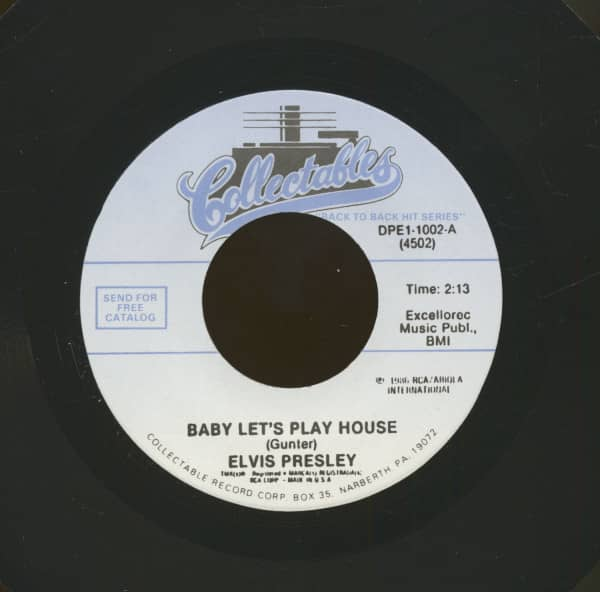 Baby Let's Play House - I'm Left, You're Right, She's Gone (7inch, 45rpm)