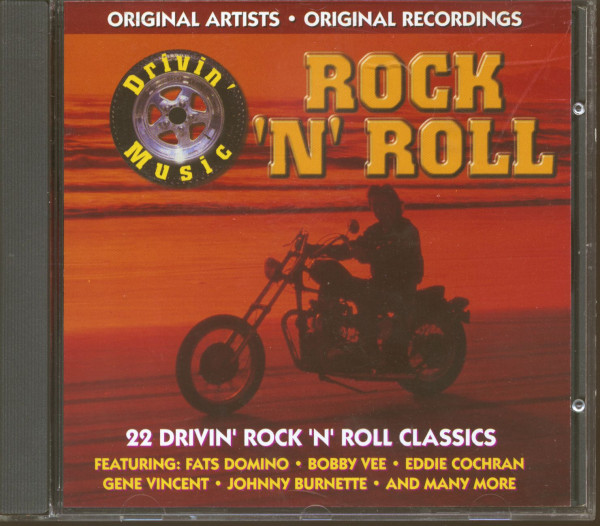 Drivin' Rock'n'Roll (CD)